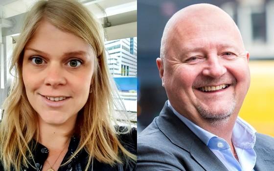Zoe du Chatel, Paul van der Linden, AFM