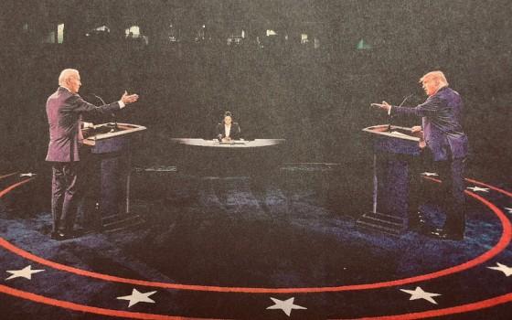 Verkiezingsdebat 2020, Biden vs Trump