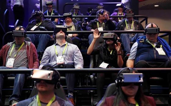 Samsung Gear VR brillen