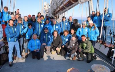 Deelnemers aan de Spitsbergen-expeditie