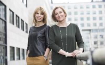 Maureen Schlejeb en Yvonne Bakkum