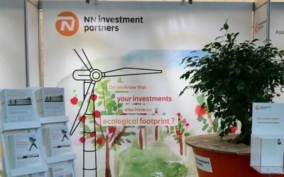 Stand NN IP, tijdens Investment Summit