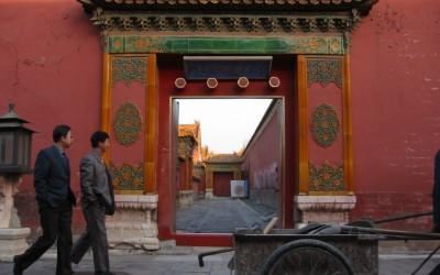 Chinees straatbeeld