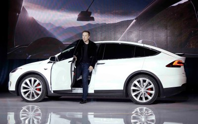 Elon Musk, Tesla (archiefbeeld)