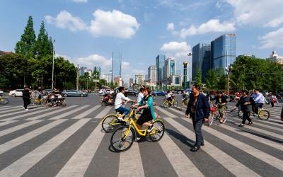 Straatbeeld China