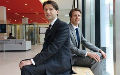 Sven Smeets en Edzard Potgieser