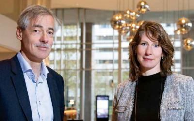 Eric Puik en Karin Pasha