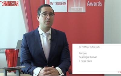 Jeffrey Schumachter, uitreiking online awards