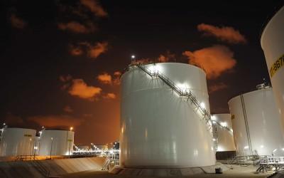 Olieopslagtanks