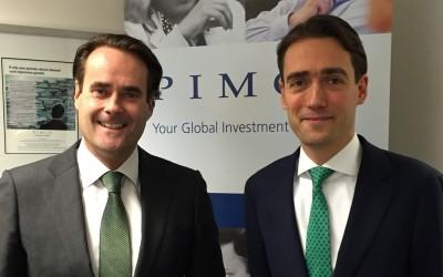 Patrick Dunnewolt en Phil Michels van Pimco