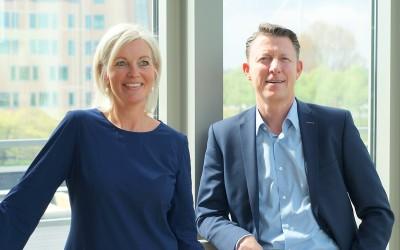 Annette Koetsier-van Musscher en Ivar Roeleven