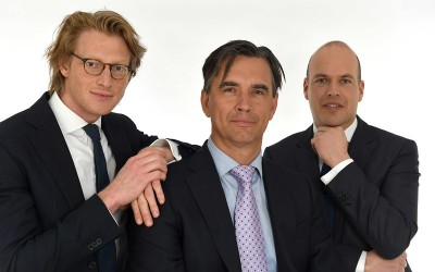 Joep van Bohemen, Rob Stuiver en Tenne Tromp
