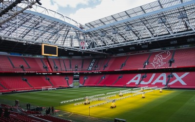 Ajax stadion (foto: Unsplash)