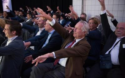 Zelfreflecterende oefening tijdens Fondsevent 2019