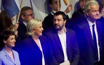 Vertegenwoordigers van populistische partijen