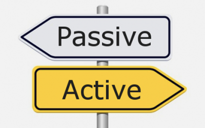 Van passief weer naar actief