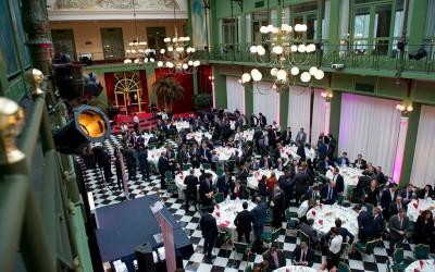 Uitreiking Fund Awards, Krasnapolsky Hotel