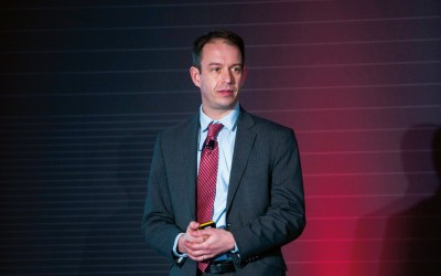 Martijn Cremers, onlangs op de Institutional Conference van Morningstar in Amsterdam
