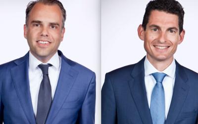 Alain van der Heijden en Rik den Hartog, Kempen Capital Management