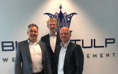 Blauwtulp, met Arnt Thijssen (in het midden)
