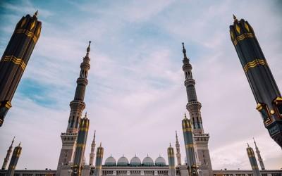 Nabawi Mosque, Madina, Saudi Arabia