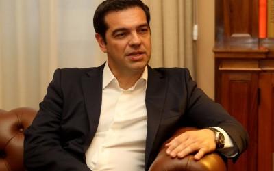 Premier Alexis Tsipras van Griekenland