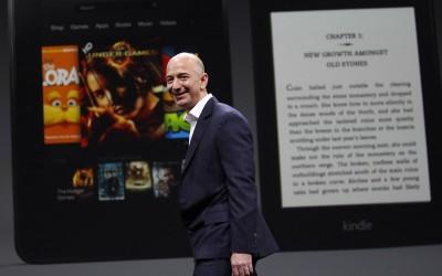Jeff Bezos, topman van Amazon