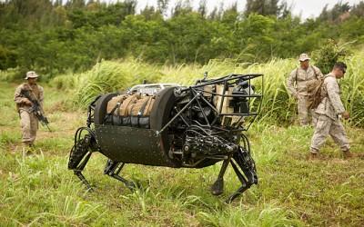 Robots marine