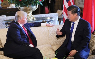 President Trump en president Xi-Jinping