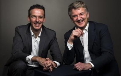 Arnold Pagen en Max Petram