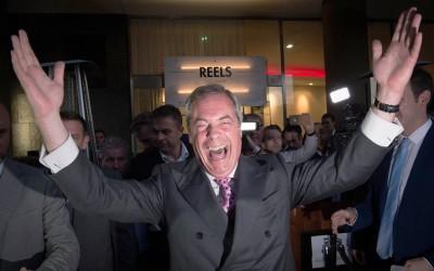 UKIP-leider Nigel Farage