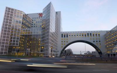 De Haagse Poort, de thuisbasis van NN IP