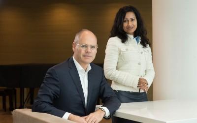 Bart Horsten en Rishma Moennasing, Rabobank