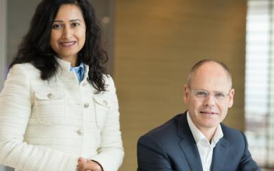 Rishma Moenassing en Bart Horsten