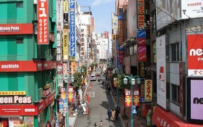 Straatbeeld Japan