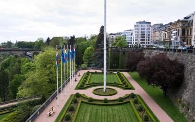 Centrum van Luxemburg stad