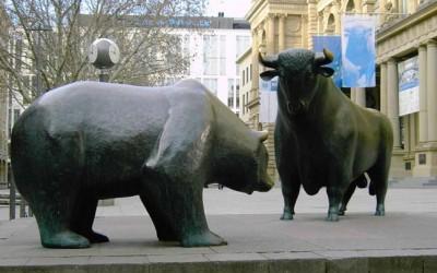 Strijd der mastodonten: Bull vs Bear