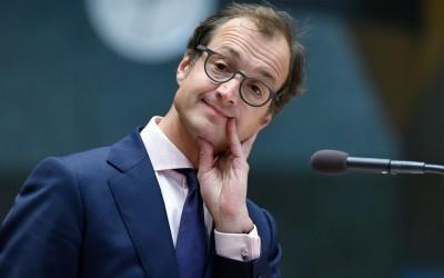 Staatsecretaris Eric Wiebes van Financiën