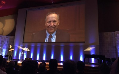 Larry Summers in een conference call