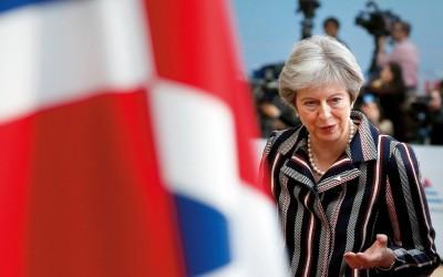 Premier Theresa May van het Verenigd Koninkrijk