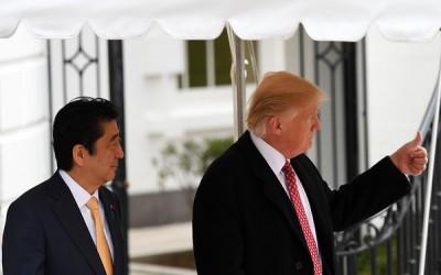 Abe en Trump