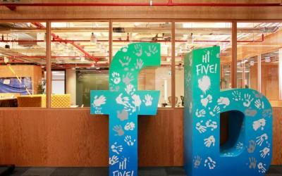 Facebook-kantoor Londen