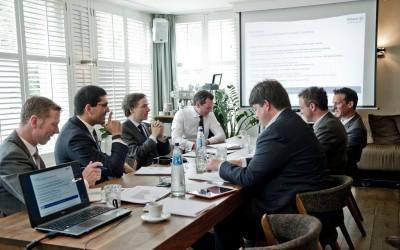 Anton Reijinga, Joop Huij, Benedikt Henne, Pim Lausberg, Arnold Pagen, Cees van Lotringen, Han Dieperink