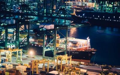 Container-schip