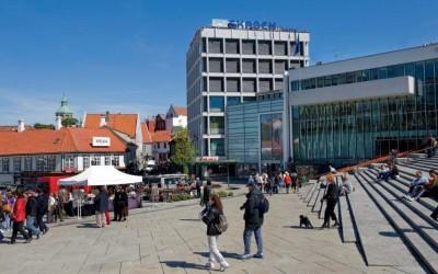 Skagen-hoofdkantoor in Stavanger