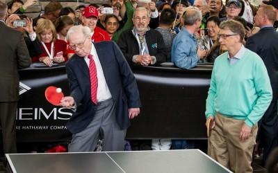 Warren Buffett en Bill Gates