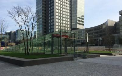 ABN AMRO-hoofdkantoor aan de Amsterdamse Zuidas