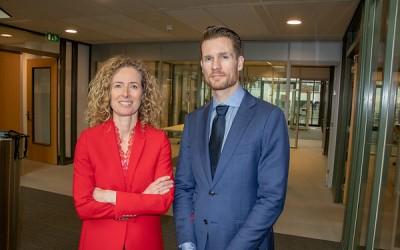 Petra van Rijn en Casper Rutting, AFM