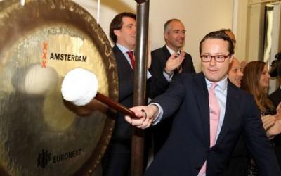Marcel Danen luidt de gong