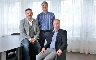 Evert Verwer, Walter Janssen, Johan van Sprundel